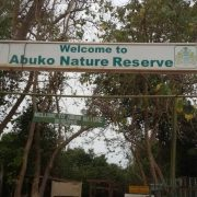 Het Abuko National Park in Gambia